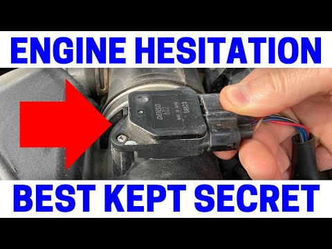 How To Fix Engine Hesitation During Acceleration - P0100 P0104 P0171 P0172 P0174