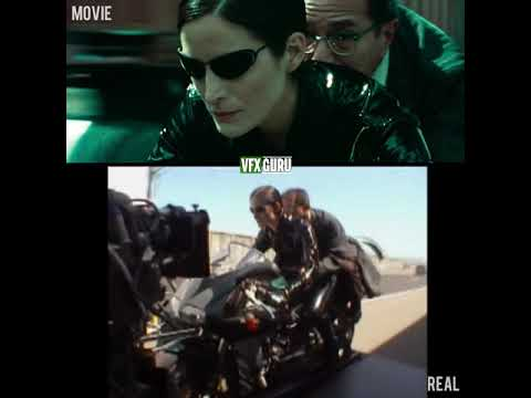 Download The Matrix Reloaded (2003) - Behind The Highway Fight Scene - Before/After VFX