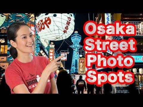 [English] Street Photography Spots Guide of Osaka Japan
