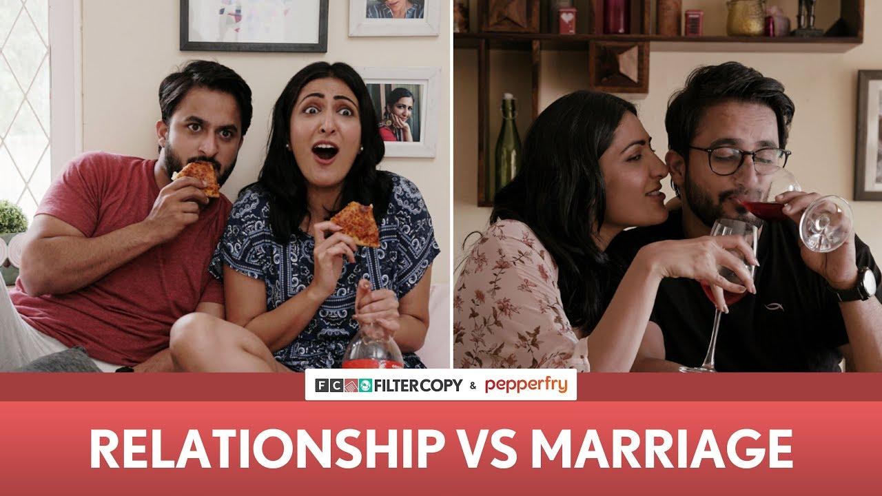 Download FilterCopy | Relationship vs. Marriage | Ft. Eisha Chopra and Veer Rajwant Singh