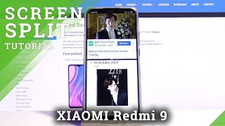 Split Screen Feature - Dual Apps Option on XIAOMI Redmi 9