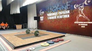 Чемпіонат України з важкої атлетики серед молоді до 23 років. 8 серпня