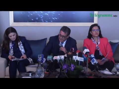Conférence de presse du ministre de l'agriculture et de la pêche maritime Aziz Akhannouch