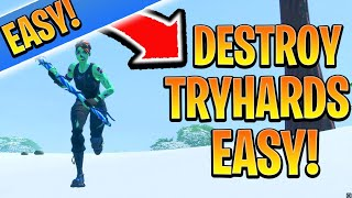 DESTROY Tryhards EASY With THIS! Fortnite Ps4/Xbox Tips and Tricks Chapter 2 (How to Win in Fortnite