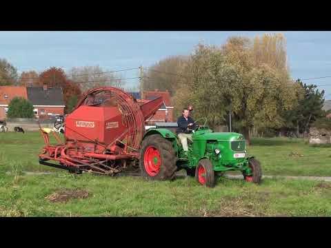 Landb. Lebbe - Ieper - Deutz D55 - Kemper V2 - Farmall D-217 - Deutz-Fahr DX 3.60