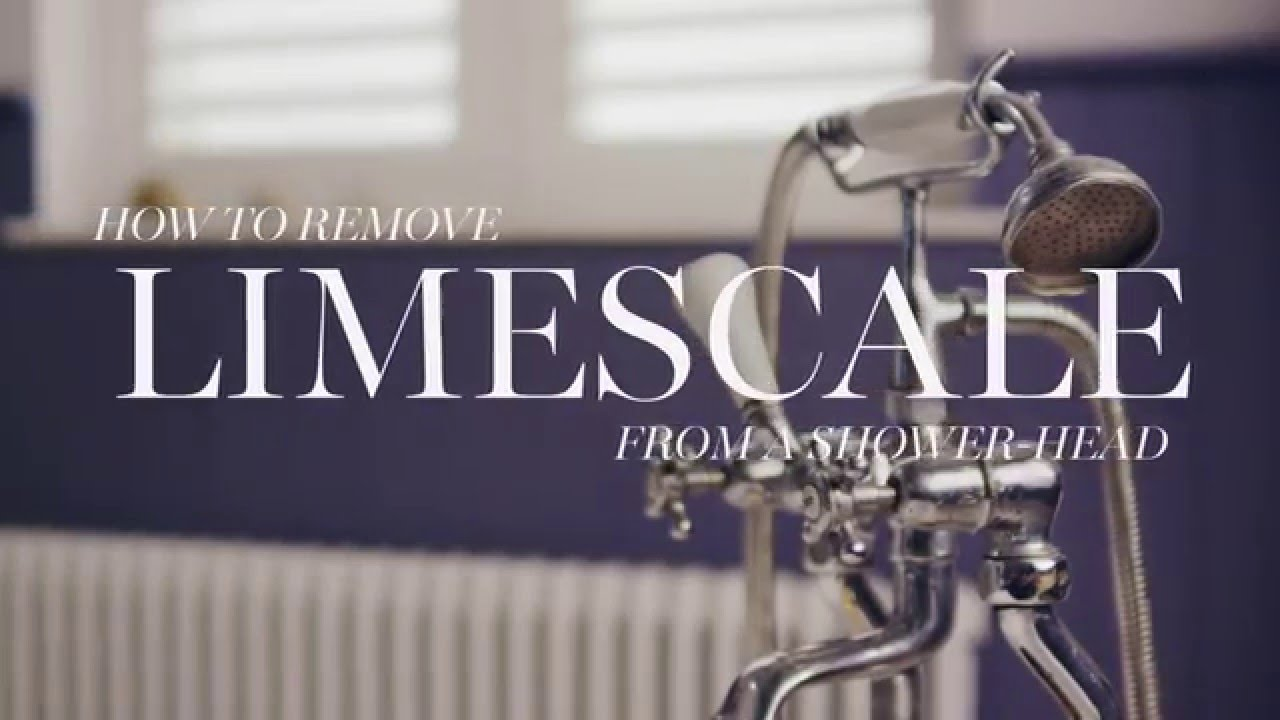 M&S Home: How to Remove Limescale From A Shower-head - YouTube