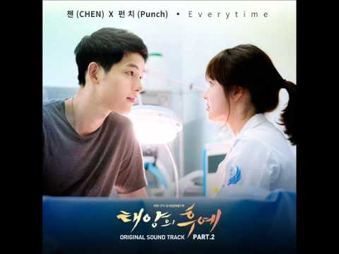 CHEN (EXO) & Punch (첸 & 펀치) - Everytime [태양의 후예 OST Part. 2]