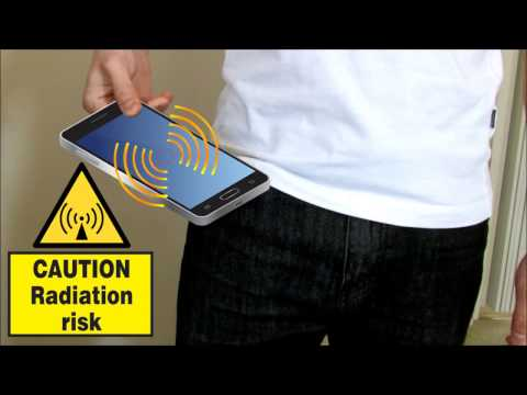 dangerous Cell phone Radiation in your Pocket?  One simple solution? How-to Demo Inside...