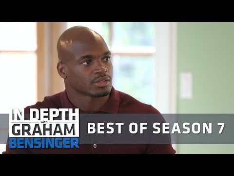 Adrian Peterson answers tough questions on abuse