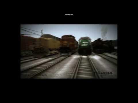 Train Simulator 2014- New Intro, Zoom Camera Test, and Derailment |