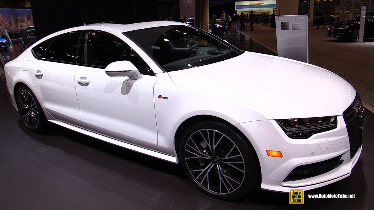 2017 audi a7 s line exterior and interior walkaround 2017 chicago auto show youtube. Black Bedroom Furniture Sets. Home Design Ideas