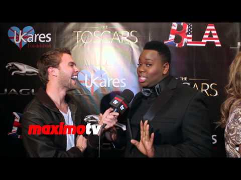 Alex Newell Interview 7th Annual TOSCARS Awards Show Red Carpet