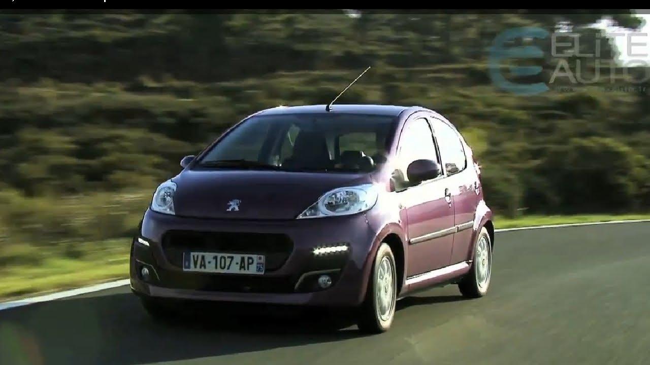 Peugeot 107 1,0L BVM 5 Access 5p 2012 - YouTube