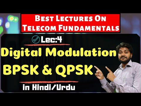 Digital Modulation BPSK/QPSK Part-3-Hindi/Urdu   Digital Communication   wireless communication