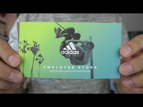 How I Get Adidas Employee Store Passes!