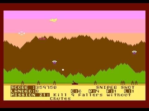 RAIN OF TERROR game for Atari 8-bit XL/XE computers - Abbuc software contest 2016