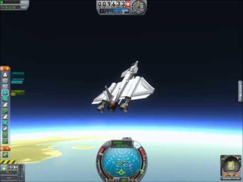 My Spaceplane Sub-orbital record flight