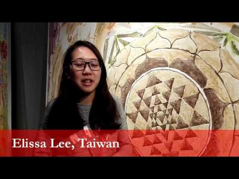 Elissa Lee, student from Taiwan at the University of Ljubljana
