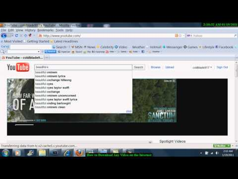 How To Download Any Video On The Internet For Free And Convert It To Any File Format