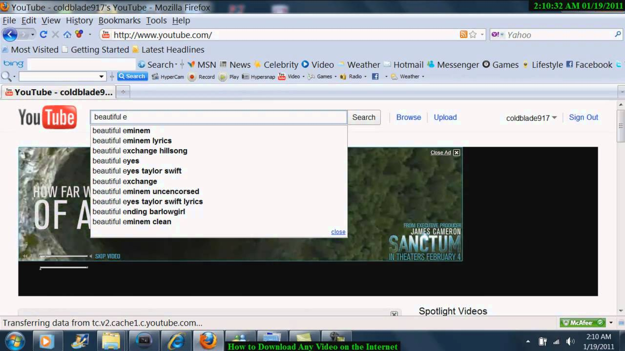 How To Download Any Video On The Internet For Free And Convert It To Any  File Format  Youtube