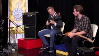 Урок игры на гитаре для начинающих. Robinzon.TV