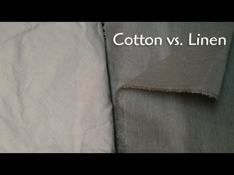 Canvas: Linen vs. Cotton