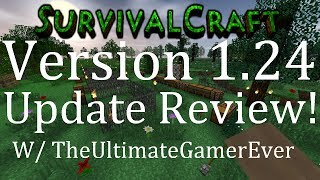 Survival Craft Version 1.24 Update Review! ( Christmas Update! )