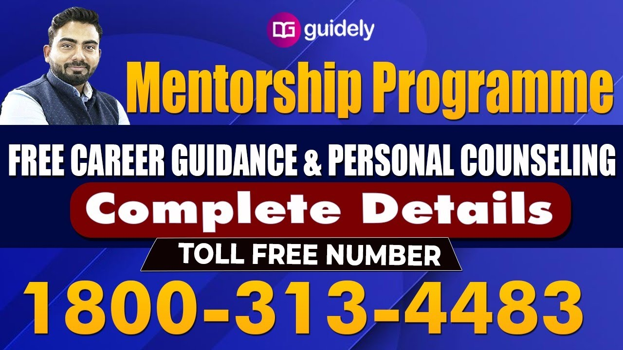 Mentorship Programme Complete Details Free Career Guidance Abhijeet Sir Youtube