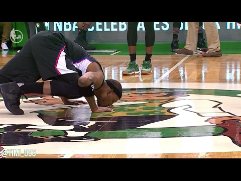 Paul Pierce Highlights from last game at TD Garden (02/05/2017)