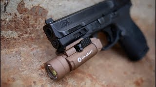 Olight PL2 Valkyrie Desert Tan Weapon Light Review: 1200 Lumens!
