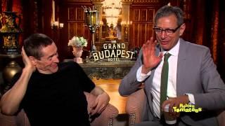 Ralph Fiennes, Jeff Goldblum, Willem Dafoe, Saoirse Ronan, Tony Revolori Of Grand Budapest