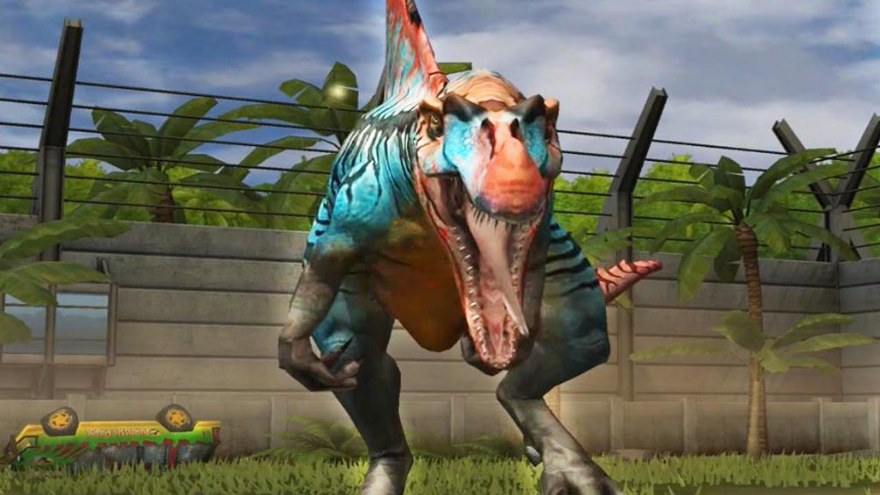 jurassic world the game spinosaurus level 1