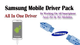 Samsung Mobile Driver Pack | All In One USB Driver Pack | Its Only For All Samsung Mobile |