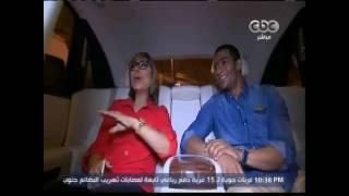 بالفيديو.. محمد رمضان يصطحب لميس الحديد في جولة بالـ«رولز رويس»