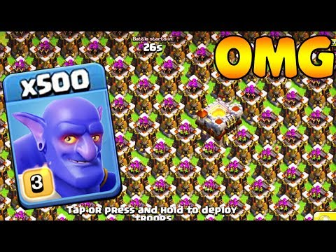 500 Max Bowler VS 500 Max Archer Tower Amyzing Attack Experiment  | Funny GamePlay