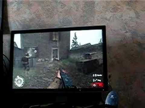 Dell 2407WFP Call Of Duty 2