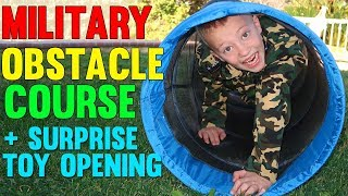 Obstacle Course Challenge!