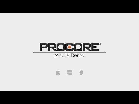 Procore Mobile Demo