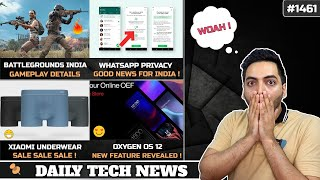 Battlegrounds Mobile India Gameplay,WhatsApp Policy Canceled,Android Phones At Risk,Xiaomi Underwear