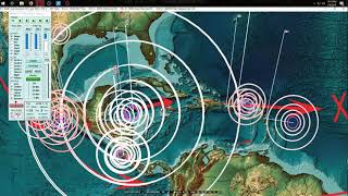 1/09/2018 -- Major M7.6 Earthquake hits Caribbean Central America -- Unrest spreading across plates