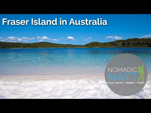 Fraser Island in Australia