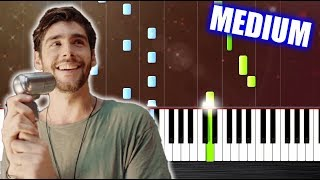 Download Alvaro Soler - Sofia - Piano Tutorial (MEDIUM) by PlutaX Mp3 and Videos