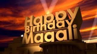 Happy Birthday Magali