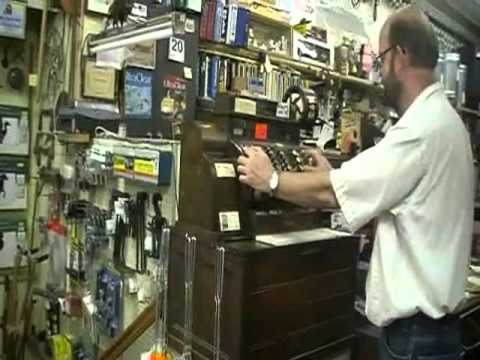 Medina Hardware Cash Register