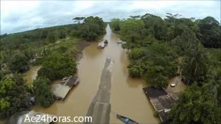 RIO MADEIRA INVADE BR 364; ACRE ISOLADO! - 22.02.2014