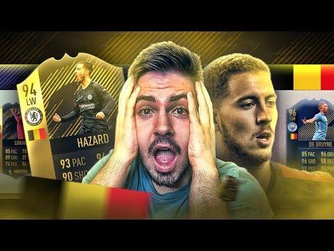 FUT DRAFT DA BÉLGICA! 3º NO RANKING DA FIFA!!!🔥🌎🇧🇪