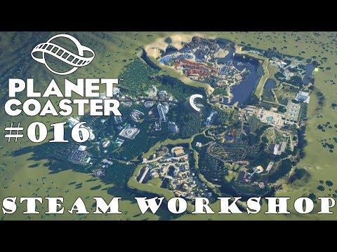 A Attractie & Vakantie Park - Community Park 🎢 PLANET COASTER 🎠 Park Vorstellung #016