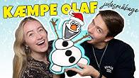 Vi Laver En KÆMPE OLAF JULESMÅKAGE! Ft. Elias Hole fra kender du det