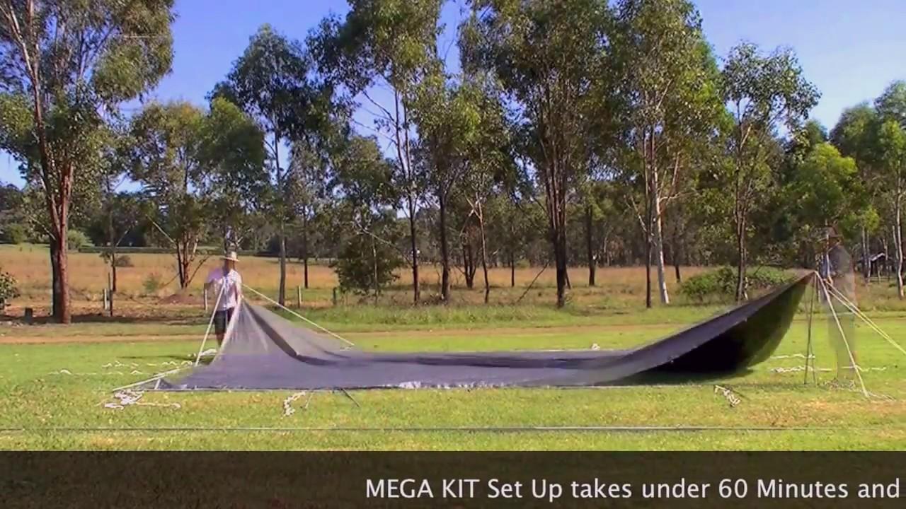 Tarpaulin Solo Person Set Up | MEGA KIT 6.10m x 7.32m | C&Kings Australia & Tarpaulin Solo Person Set Up | MEGA KIT 6.10m x 7.32m | CampKings ...