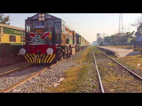 Fast & Decorated Rehman Baba Express Cruising Through Sihala